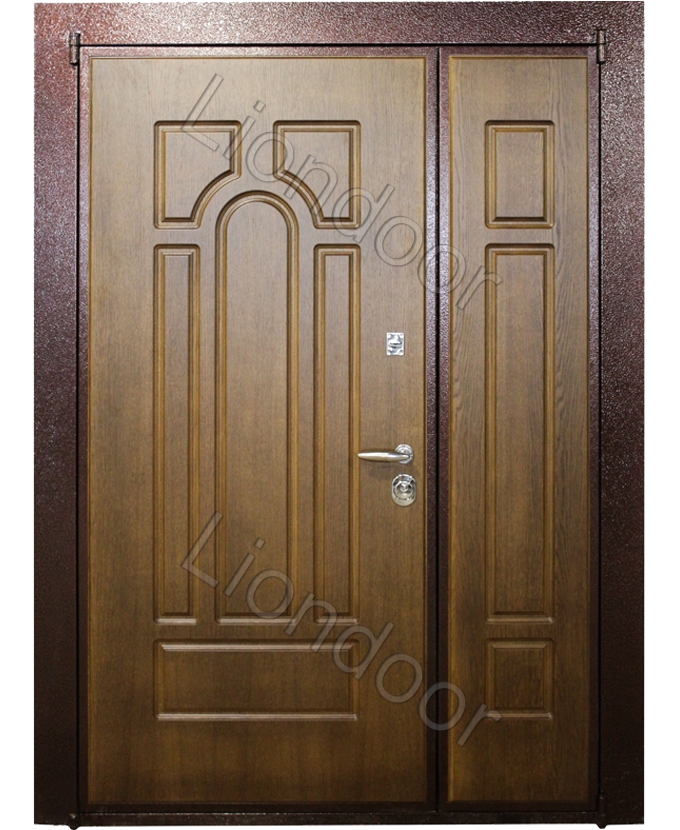 заказать входные железные двери с отделкой корабельная фанера от производителя