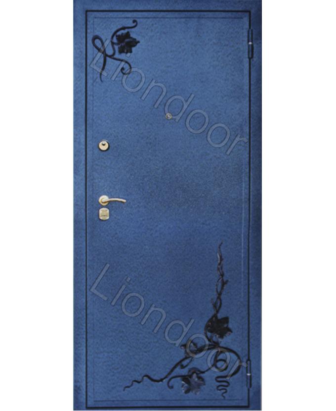 заказать входные стальные двери с рисунком на металле