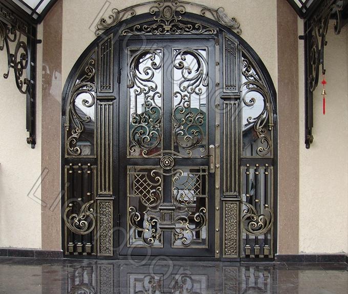 Надежные решетчатые входные двери