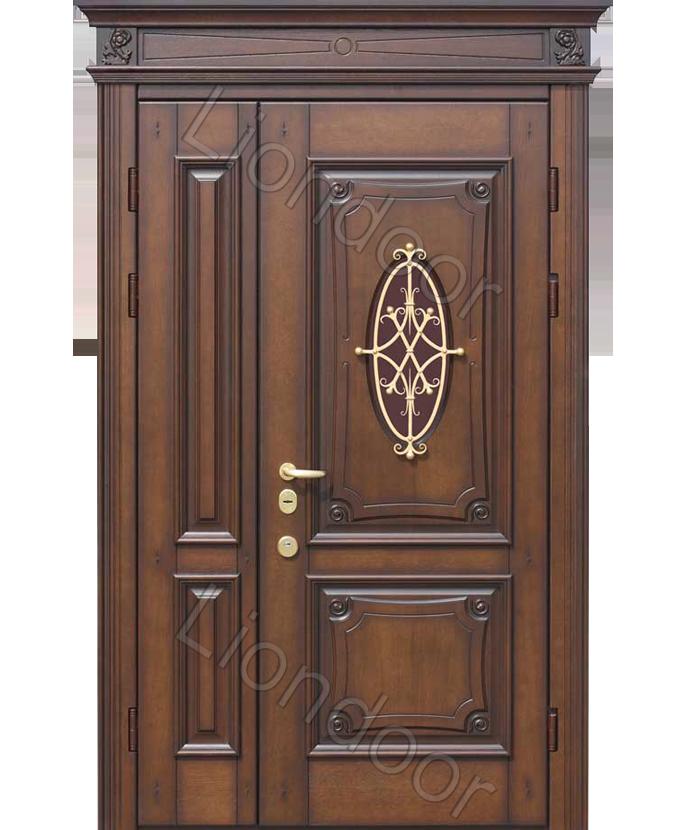 классические металлические двери