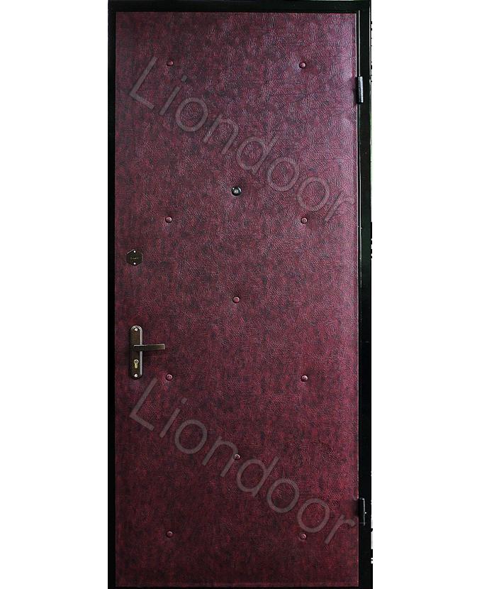 заказать входные металлические двери с рисунком на винилкоже