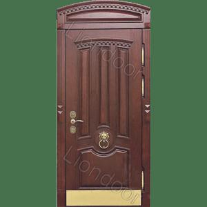 металлические двери в частный дом