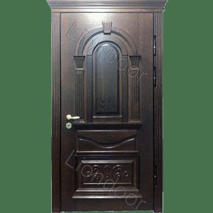 металлические парадные двери